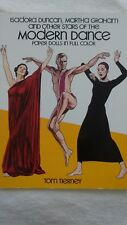 Duncan, Graham & Other Stars of the Modern Dance Paper Dolls by Tom Tierney