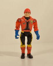 "Vintage 1986 Eric Bennett 3.75"" LJN Diecast Metal Action Figure Bionic 6 Six"