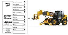 JCB Loadall 530 533 535 540 Telescopic Handler Service Repair Workshop Manual CD