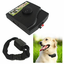 Waterproof Electronic Dog Fence System Electric Collar Fencing Pet Containment