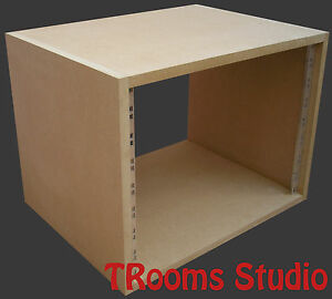 "8u UNIT 19"" INCH RACK CABINET RECORDING STUDIO FURNITURE 300mm deep"