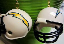 BIG SAN DIEGO CHARGERS FOOTBALL HELMET EARRINGS 925 NFL SPORTS GIFT  NORA WINN