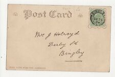 Mrs J Holroyd Derby Road Bingley 1904 Postcard 113a