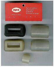 VINTAGE OPS ENGINE ASSORTED SILICONE EXHAUST MUFFLER CONNECTORS 5pc FACTORY ORIG