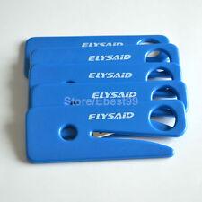 Lot/500X Seatbelt Cutter sécurité poignée lame de rasoir voiture urgence Outils Bleu