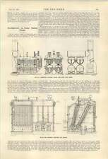 1921 Thompson Gas Boilers In Power Stations