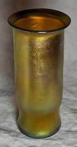 Authentic Signed Tiffany Favrile / Studios Art Nouveau Glass Vase No Reserve