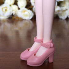 Pink High Heel Shoes For Blythe Doll 1/6 Fashion Shoes For Licca Doll Mini Shoes
