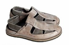 Sandales KICKERS cuir maron aspect vieilli taille 40 UK 6.5 US 7