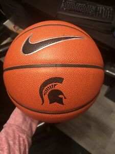 Game Used Nike Elite Michigan State Spartans Basketball