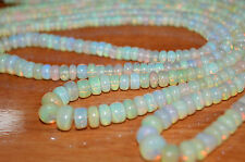 """245ct Natural Fire Fine Opal Gemstone Cabochon Bead 3 Necklace 18"""" Free Shipping"""