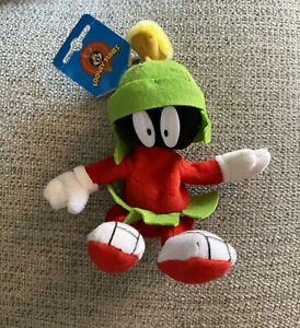 1998 Looney Tunes Marvin The Martian Plush Keychain New W/ Tags