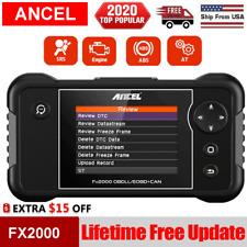 2020 OBD2 Scanner ABS SRS Transmission Engine Code Reader Car Diagnostic Tool