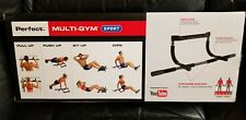 Perfect Fitness Multi-Gym Doorway Pull Up Bar Portable Gym System NEW LIMITED