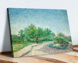 VAN GOGH CANVAS WALL ART PRINT ARTWORK  PICTURE Square Saint-Pierre Paris