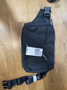 NEW Vera Bradley Lighten Up Belt Bag Waist Fanny Pack Black 21457-481 NWT