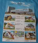 Brochure Kibri 4 Pages Ho 1/87 Houses Gear For Train Electric