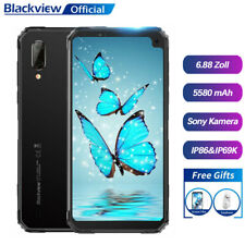 Blackview BV6100 Robuste Smartphone IP68 Wasserdichte Handy 5580mAh NFC 6,8 Zoll