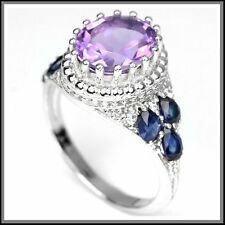 Amethyst Natural Sapphire Fine Jewellery