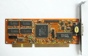 Trident 9000i-2 ISA Graphics Card