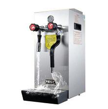 10L Commercial Espresso Coffee Milk Foam Machine Steam Water Boiling Machine220V