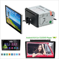 2Din Android 8.0 HD 10.1''Car GPS Navigation CD/DVD Player Stereo Audio WiFi USB