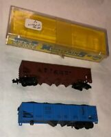 N Scale 2 Hopper Car Lot Arnold BM 10056 Boston Maine SP AHM Southern Pacific