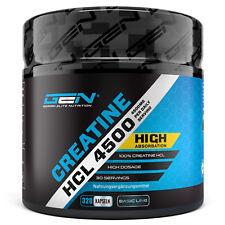 CREATIN HCL - 320 Kapseln Hochdosiert - Stärkstes Kreatin für den Muskelaufbau