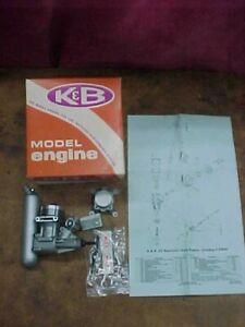 K&B .45 R/C Sportster Model Airplane Engine New in Box No.5900