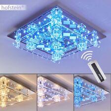 blaue LED Decken Lampen Design Flur Wohn Schlaf Zimmer Leuchten Fernbedienung