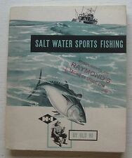 Booklet For Salt Water Sports Fishing 1950
