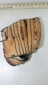 "Easton Synergy SYFP1250 12 1/2"" Softball Glove Tan/Brown Soft Leather, Left, Pro"