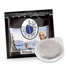 100 Cialde Miscela Nera - Filtro in Carta da 44mm - Caffè Borbone