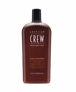 American Crew Men's Daily Shampoo 33.8 Fl Oz