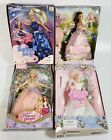 4 Barbie In Box: Starlight Fairy Rapunzel Princess Annaliese LOT