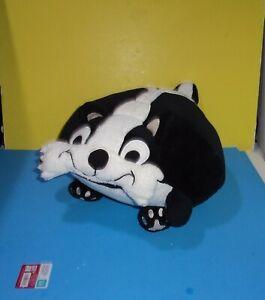 "16"" Berkshire Blanket Cuddly Buddies Plush Chubby Flat Skunk Animal Character"