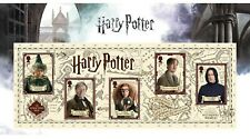 Harry Potter: Sonderbriefmarkenblock aus GB - Hogwards