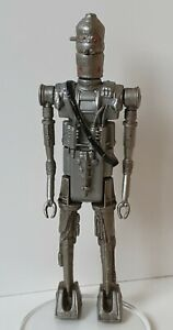 VINTAGE STAR WARS IG-88 NO COO BOUNTY HUNTER HOLLOW EYES RED 1980