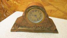 Antique Cast Metal Hump Back Clock Bank