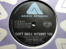"""Barry Manilow """"Can't Smile Without You"""" Terrific Oz 7"""""""