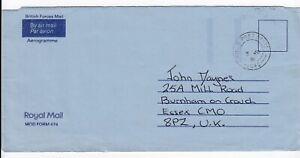 1991 British Forces Al Jubail Saudi Arabia RAF - Field Post Office 1042 Aerogram