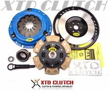 XTD STAGE 4 CLUTCH & FLYWHEEL KIT 89-91 CIVIC CRX D15 D16 CABLE (2100LBS)*Sprung