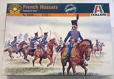 ITALERI 1:72 SOLDATINI FRENCH HUSSARS NAPOLEONIC WARS 17 FIGURINI  ART  6008
