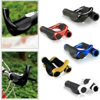 1 Pair Durable Bar End Handlebar Grips Mountain Bike MTB Ergonomic Bicycle-Nice