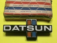 Datsun Nissan 720 Pickup Front Grill Emblem Badge Part 62394-01W00 Genuine NOS