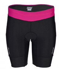 Zoot - Women's Performance Tri 8 inch short - Passion fruit/Black - Extra Small