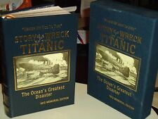 THE STORY OF THE WRECK OF THE TITANIC Easton Press 1st Edition 1912 Memorial Ed.
