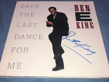 Ben E. King Signed Autographed Save The Last Dance For Me Record Album LP