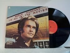 """MERLE HAGGARD """"IT'S ALL IN THE MOVIES"""" LP   MINT"""