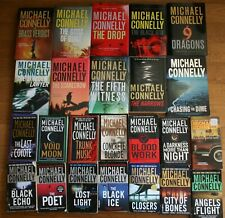 MICHAEL CONNELLY lot of 34 detective and crime novels
